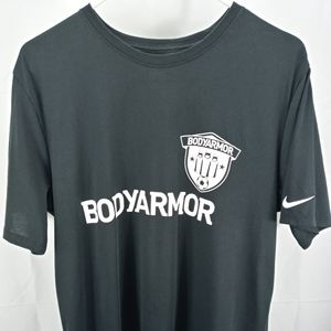 Nike BodyArmor Mens Large Black DriFit Sport Shirt